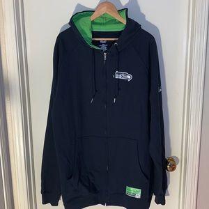 NWOT Seattle Seahawks majestic brand hoodie.